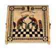 Beige Chess Pieces Storage Box_5