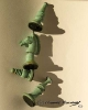 Chess Pieces Green patina_2