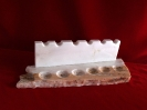 Marble Pipe Stand